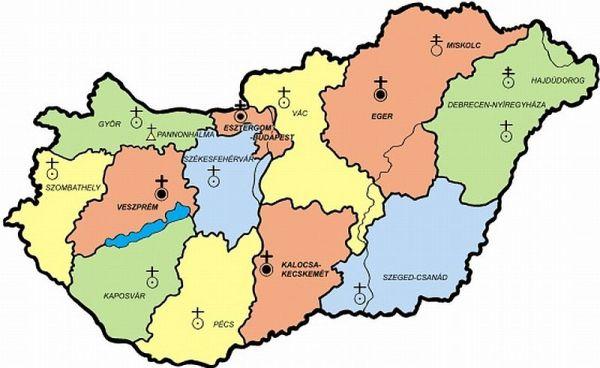 magyarország térkép szeghalom Templomok / SZOLGÁLÓ hittan   katolikus lelkiségi honlap magyarország térkép szeghalom